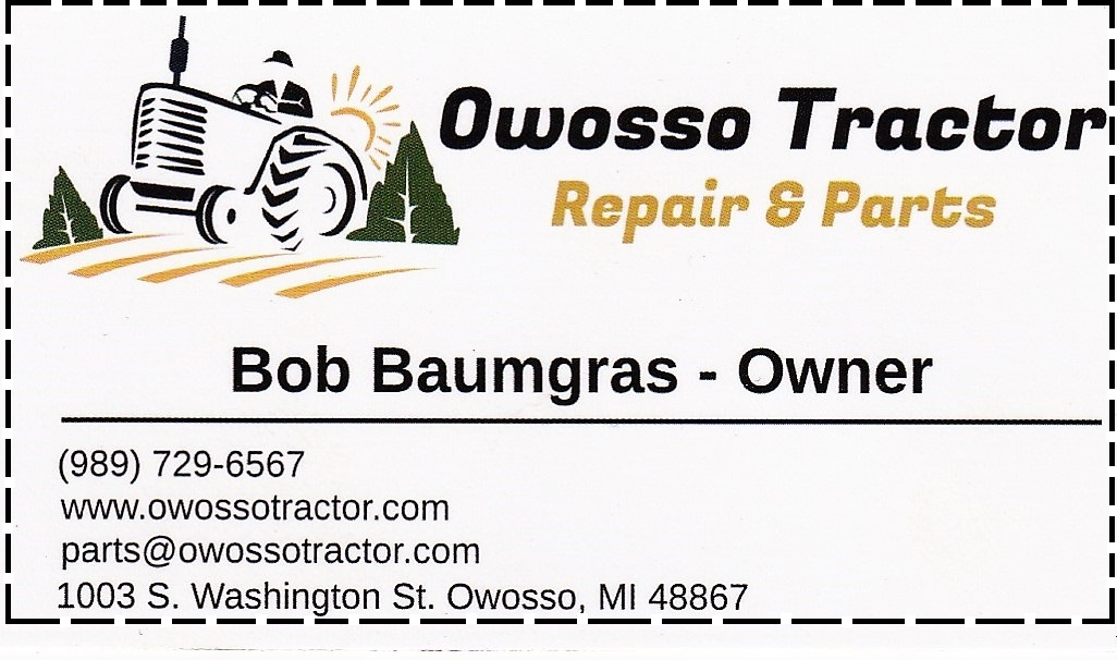 owosso tractor repair and parts  tractor parks most makes models