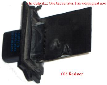 Dodge Dakota Bad Fan Resistor Fan Speed