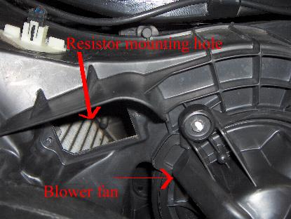 Dodge Dakota Fan Resistor Location